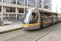 Smithfield Luas tram station - 1 minute walk