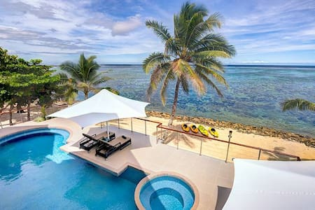 LomaniWai luxurious all-inclusive beachfront Villa