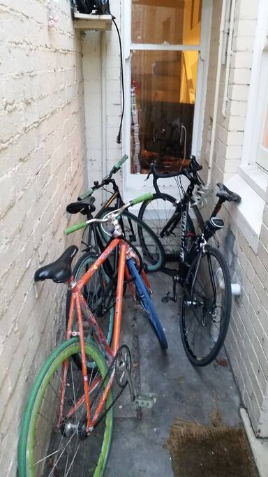 A couple of bikes to go round