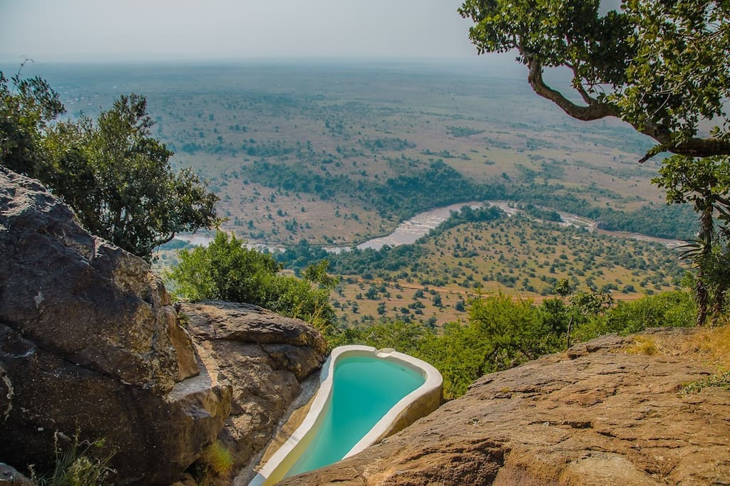 Plunge Pool with a stunning View