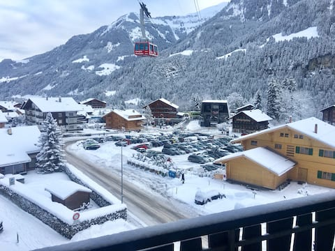 Swiss Chalet located in the center of Champéry