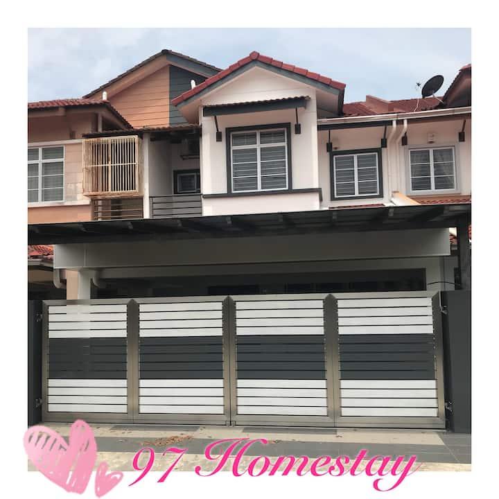 Newly Renovated Homestay in Teluk Intan!!!
