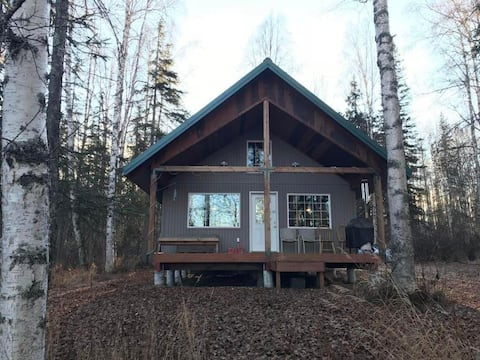 Rough it in Style!  Beautiful Lake View Cabin!