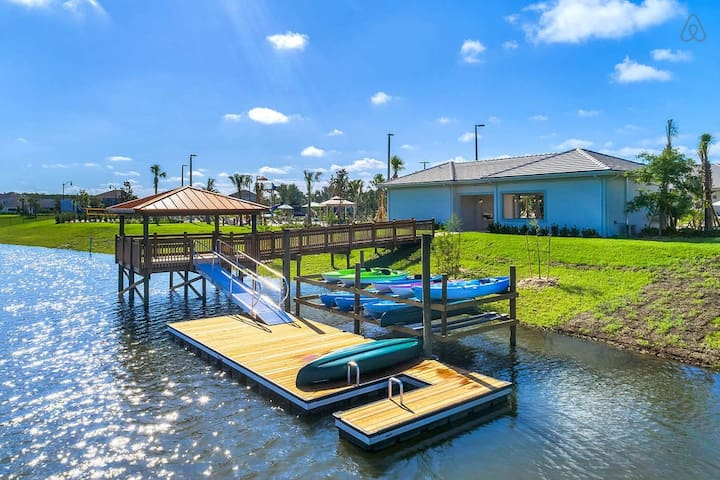 Spend your vacation time at the kayak station.