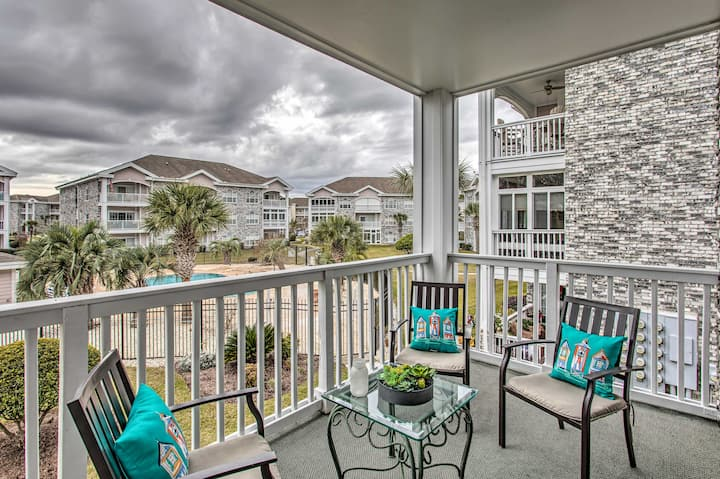 NEW! Myrtlewood Golf Resort Condo with Pool Access