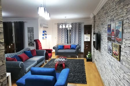 Cozy and Stylish Apartment in New Cairo Rehab