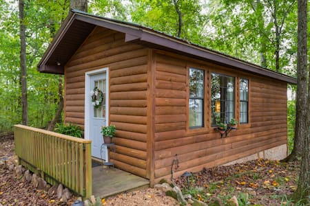 Social Distancing Cottage in the Woods