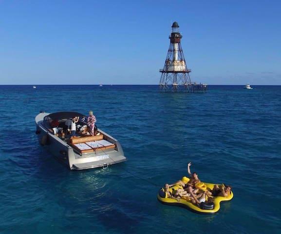 Miami Beach Yacht Rentals-40' VanDutch