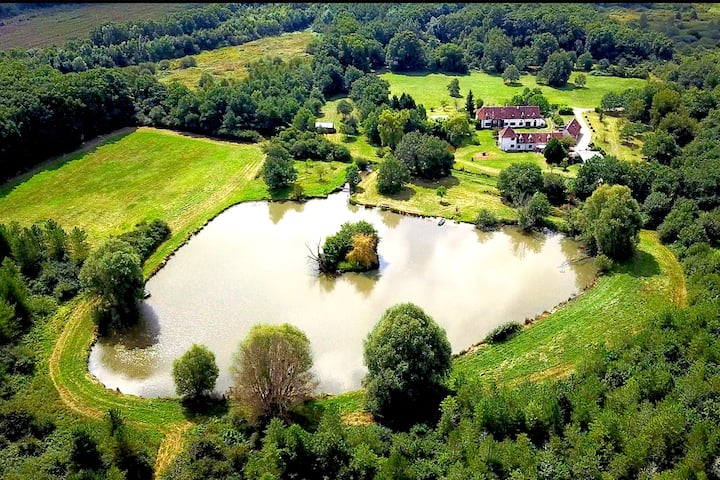 Gites 8 people in Sologne (+ educational farm)