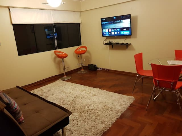 Apart full furnished- 2 rooms