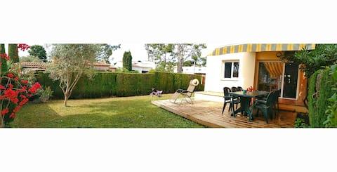 Apartament amb jardí a la Fosca