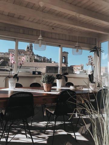 Appartamento con vista spettacolare