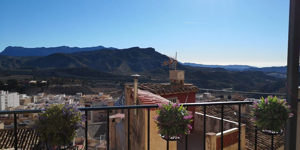 Romantic village home 40 minutes from airport