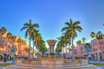 Mizner Park is within Walking distance!