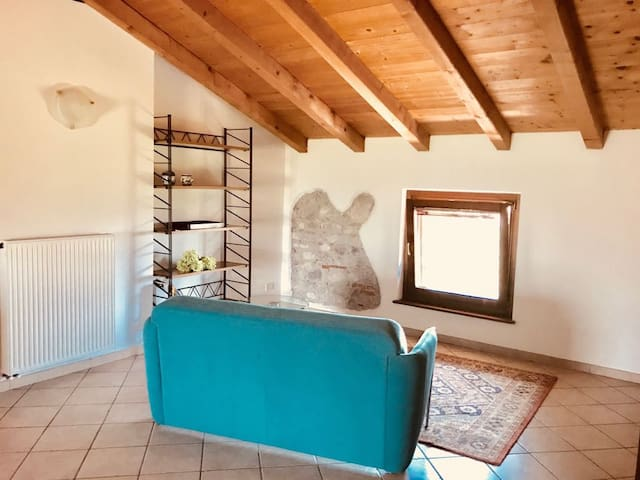 Beautiful attic apartment not far from city centre
