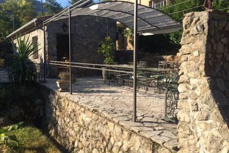 Mas provençal , cadre de verdure et rivière - Tourrettes-sur-Loup