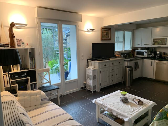 Appartement jardin Centre Ville Royan