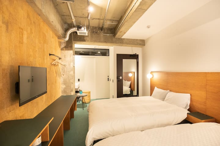 Earthmans apt 504/3mins walk from Shinsaibashi EMA