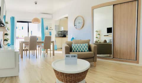 Blue apartment city center Vilamoura