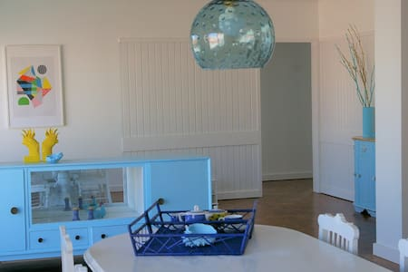 Blue Apartment Parede Beach House