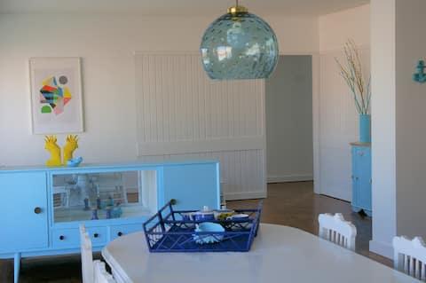 Blue Apartment Parede Beach House