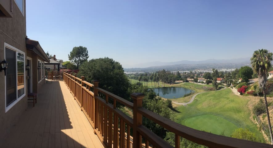 Overlooking Golf Course, close to Fairplex