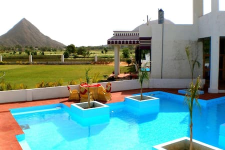Deluxe Cottage at Resort in Pushkar 3 - Pushkar - Alojamento ecológico