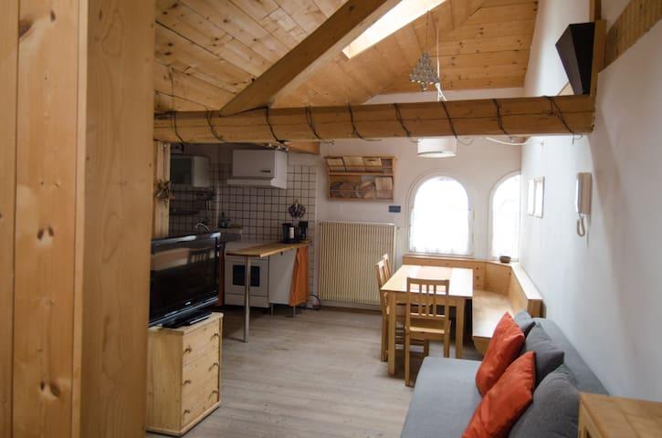 Gemütliche Wohnung im Herzen der Dolomiten