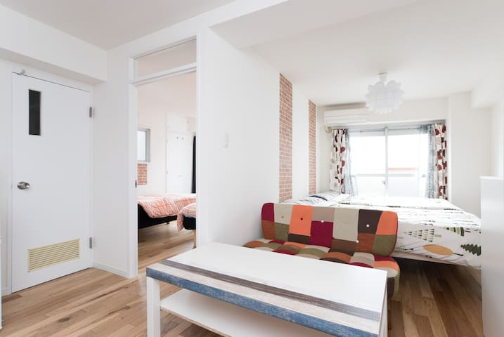 Ebisu,Daikan-yama on your doorstep /Newly Reformed - Shibuya-ku - Apartment