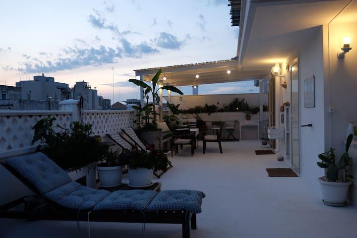 Casa Graziella & Terrace in Monopoli center