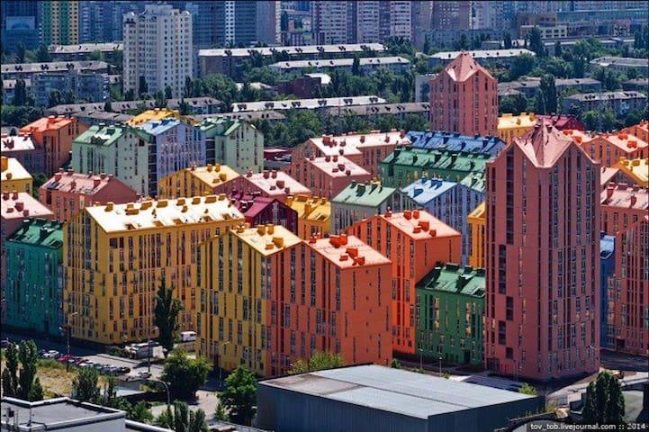 Cozy apartment in modern complex - Київ