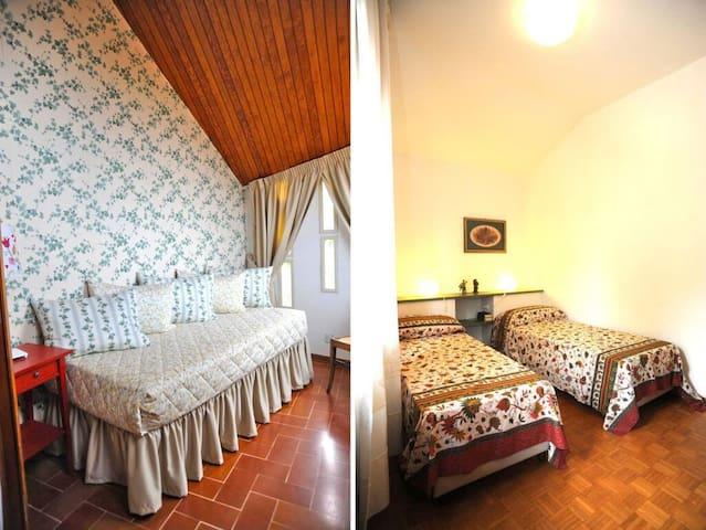 Single bedroom and double bedroom 1st floor