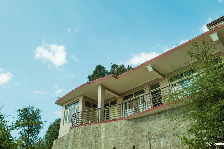 Main view of homestay