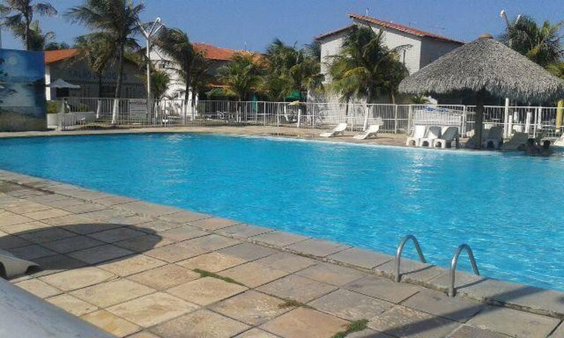 Duplex condomínio em frente a praia Icaraí - Caucaia - Prázdninový dům