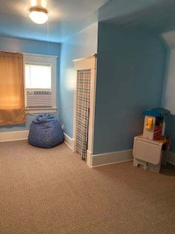 Upstairs #2 Bedroom with Play Area