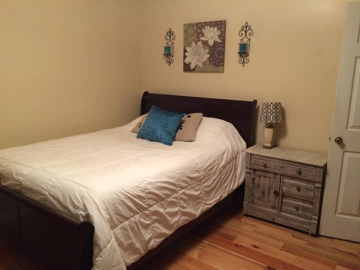 Cute and Spacious queen bedroom space