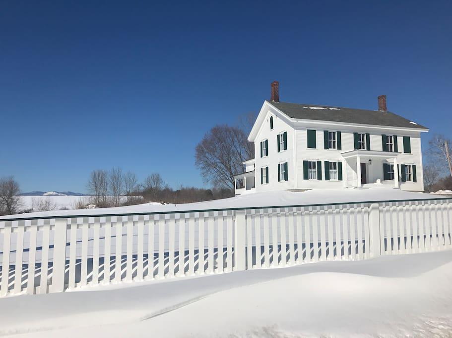 """Crystal Spring Farm"" - Circa 1790's Federal Farm House"