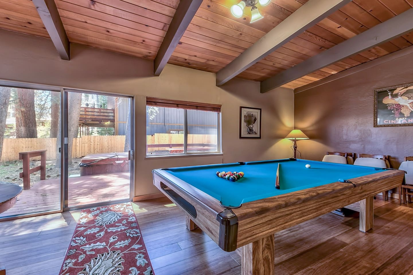 Bed Hot Tub Pool Table Houses For Rent In South Lake Tahoe - Big 5 pool table