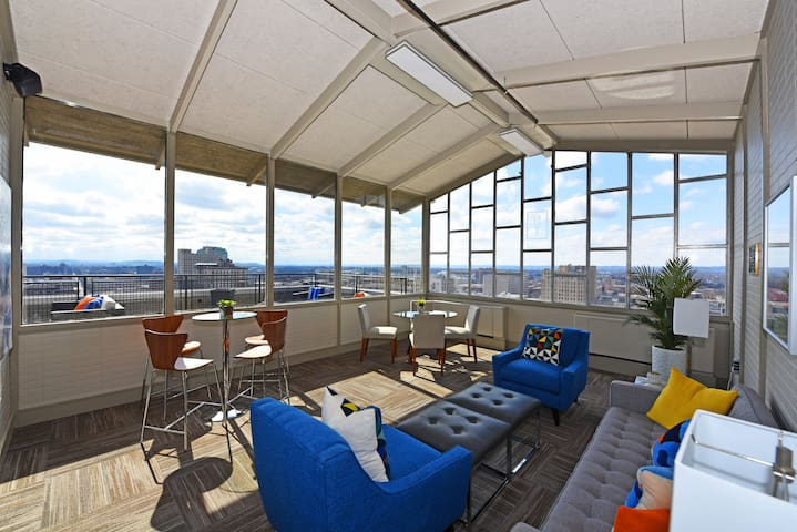 Enjoy Breathtaking Views from the Rooftop!!!