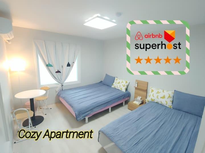 A2.【출장,휴가적합형】Cozy Space 용암동 Near by동남지구/21평APT
