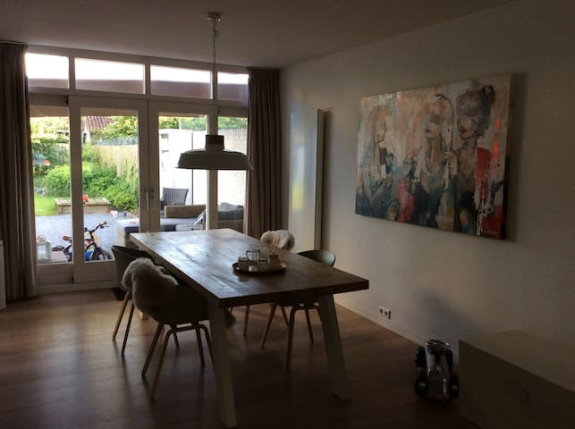 Characteristic village house close to Amsterdam!