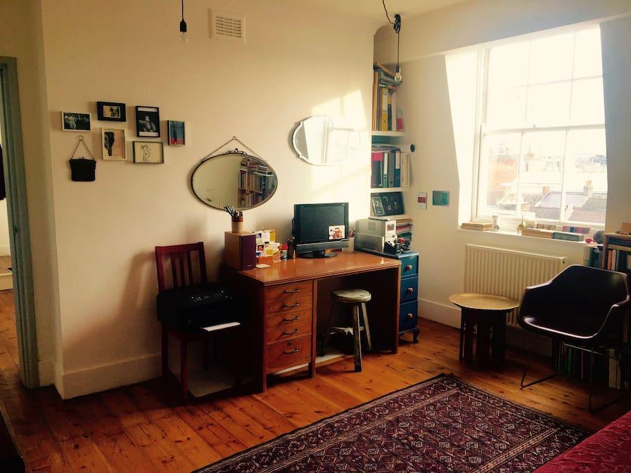 Living Room / Work Area
