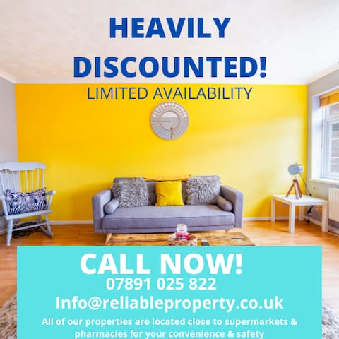 ⭐️ BEAUTIFUL Watford home DISCOUNTED!⭐️ DEEP CLEANED