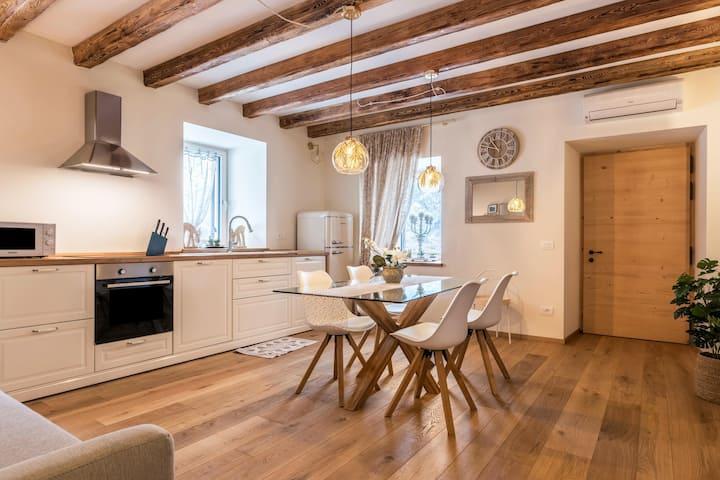 "Lovely Apartment ""Wellness Lodge Edoardo"" with Lake View, Mountain View, Wi-Fi, Balcony, Jacuzzi & Sauna; Parking Available"