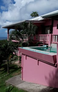 Flamingo Apartment, Big Pink,Cherry Hill,Carriacou