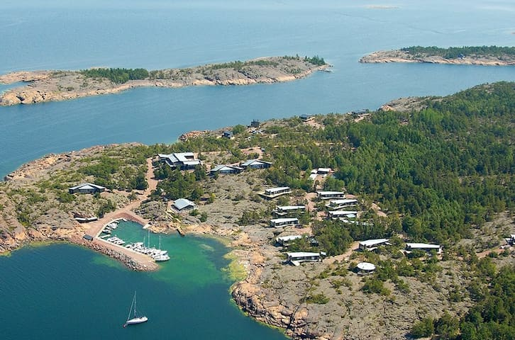 Comfortable villa in the Nordic archipelago - Geta - Dom