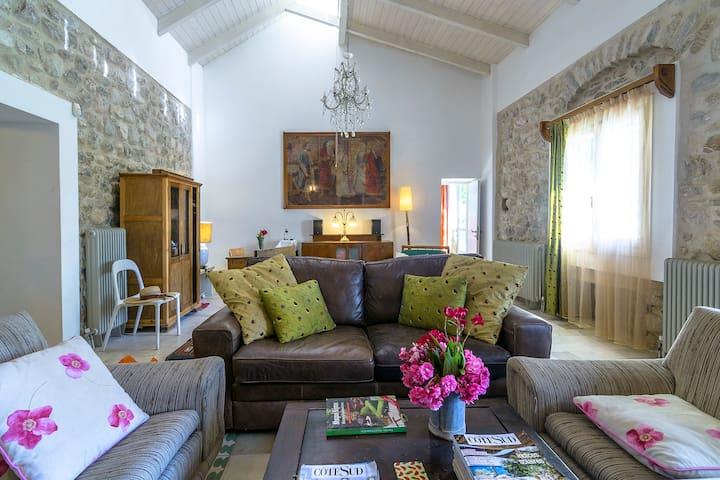 "Villa""Rio Paradiso"" in an olivery ! - Patras"