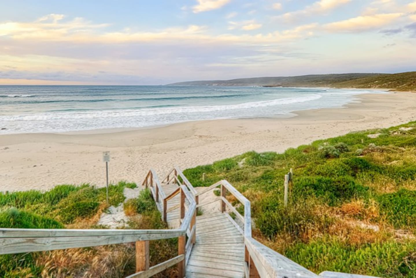 Your chalet is a short 50m walk away from pristine Smiths Beach