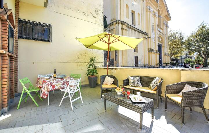 Stunning home in Lettere -NA- with WiFi and 1 Bedrooms