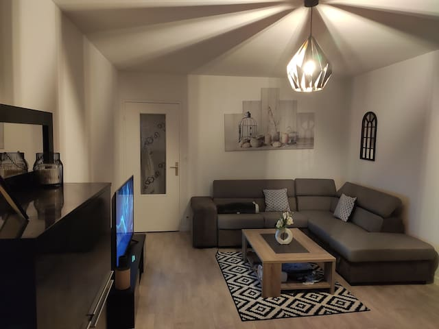 Chambre privée dans appartement avec vue sur parc